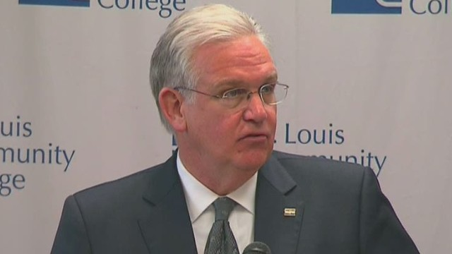 Missouri gov. creates Ferguson commission