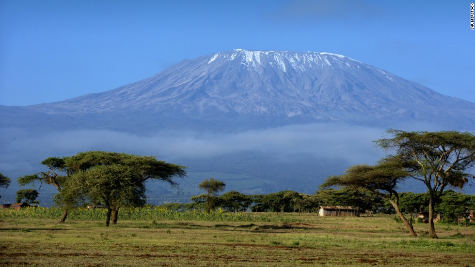 Mount Kilimanjaro is Africa's highest peak and the tallest freestanding mountain in the world.