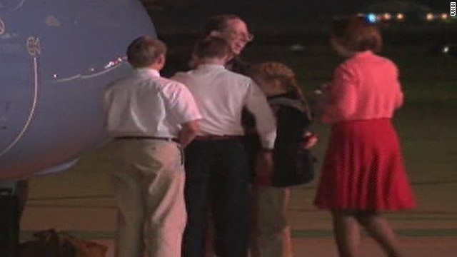 American held by North Korea returns home