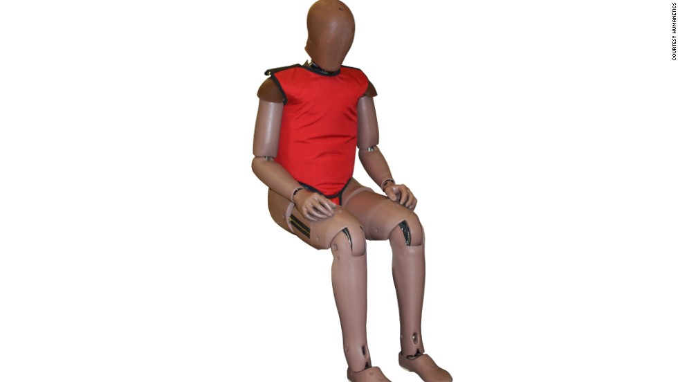 Humanetics are also rolling out their next generation THOR (Test device for Human Occupant Restraint) for median range occupants.
