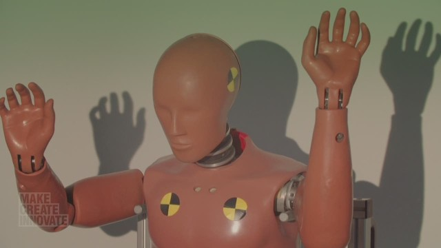 Evolution of the crash test dummy