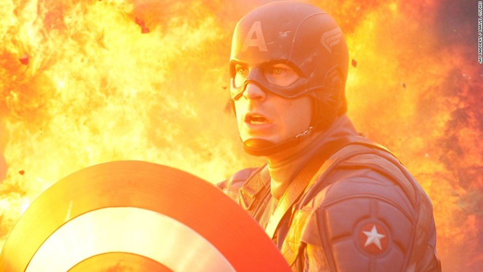 "Chris Evans, who first donned red, white and blue for 2011's ""Captain America: The First Avenger,"" continued his fight against evil in ""The Avengers."" He reprised his role in 2014 in ""Captain America: The Winter Soldier,"" and he'll be in the second ""Avengers."""