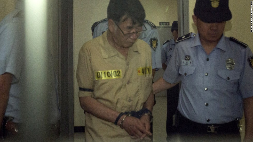 Sewol ferry captain Lee Joon-Seok was acquitted of murder, avoiding a death sentence, but was sentenced to 36 years in jail on November 11 for his role in the maritime disaster that killed more than 300.