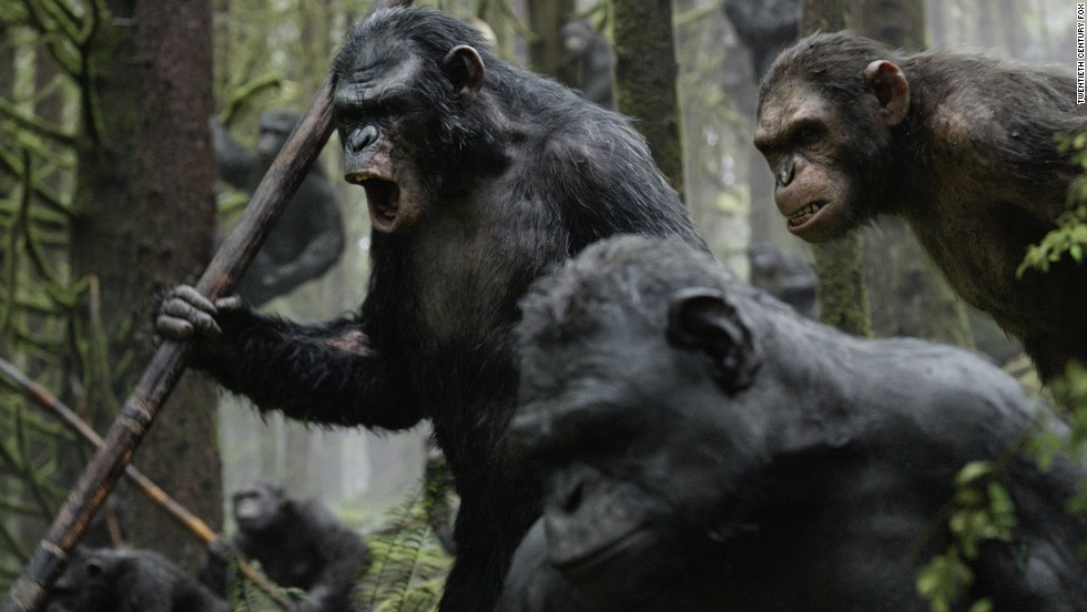 """Rise of the Planet of the Apes"" was a pleasant surprise in 2011, and 2014's sequel, ""Dawn of the Planet of the Apes,"" was considered one of the best releases of the summer. All of that means the still untitled third installment, ""War for the Planet of the Apes"" due July 14, 2017, has a lot to live up to. Also arriving that month will be another ""Bourne"" installment, as well as ""Ice Age 5."""