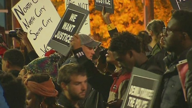 Emotions still running high in Ferguson