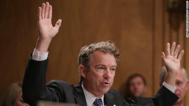 Sen. Rand Paul says President Obama must seek congressional approval for action against ISIS.