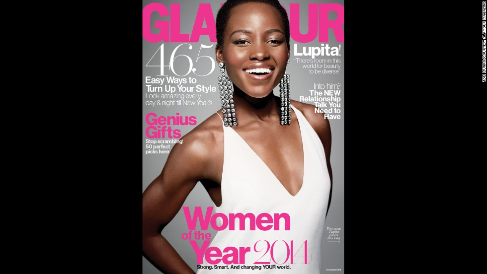 In yet another honor for Lupita Nyong'o, the actress was named one of Glamour's Women of the Year. She's had a busy 2014, as the following images show.