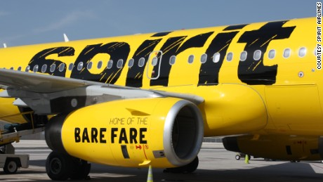 An argument over loud music got physical Wednesday on Spirit Airlines.