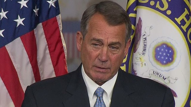 Boehner's tough words for Obama on immigration
