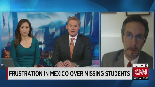 Mexico-Missing Students