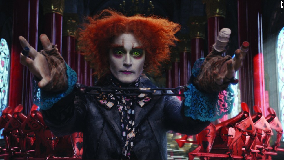 "Johnny Depp returns as the Mad Hatter in the long-awaited followup to 2010's ""Alice in Wonderland."" This 2016 release is called ""Alice in Wonderland: Through the Looking Glass."""