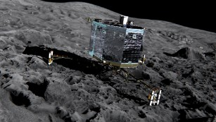 Philae lander finds 16 organic compounds on comet