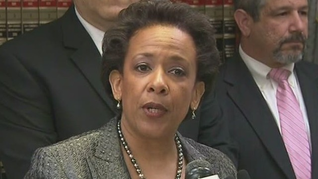 W.H. confirms Lynch for attorney general