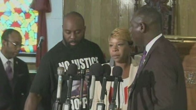 Michael Brown's parents to speak to U.N.