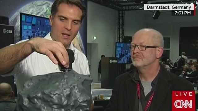 ESA elated over comet  landing