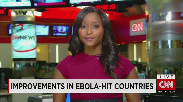 Improvements in Ebola-hit countries