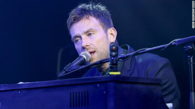 Damon Albarn is such a seasoned performer that he's totally at ease in the Albert Hall's vast space. (File photo)