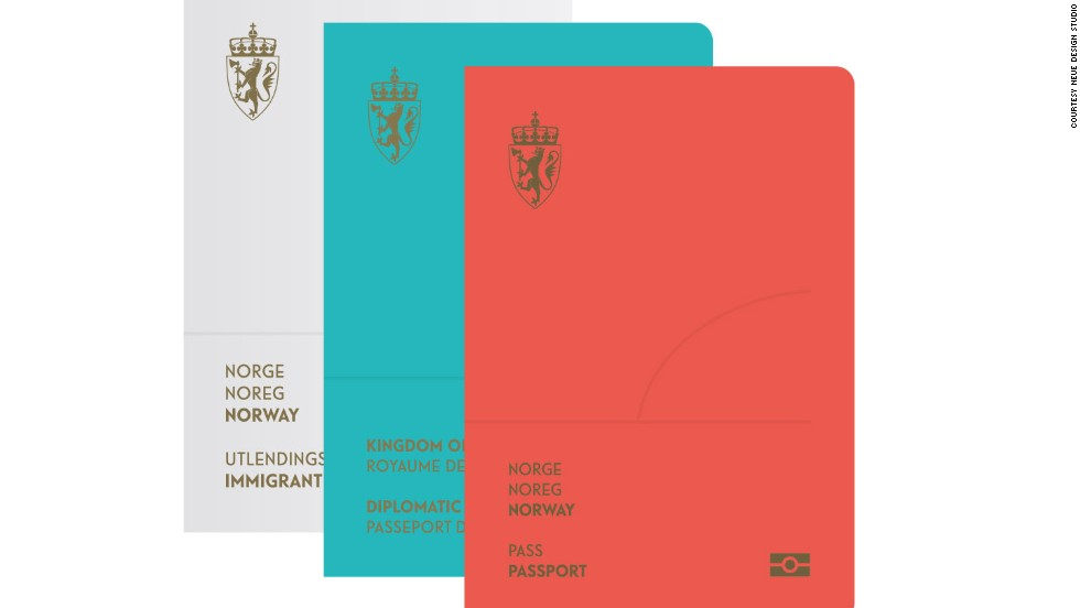 Norway has revealed the results of a competition to design a new passport. The winner is a minimalist creation praised by the jury for its simplicity.