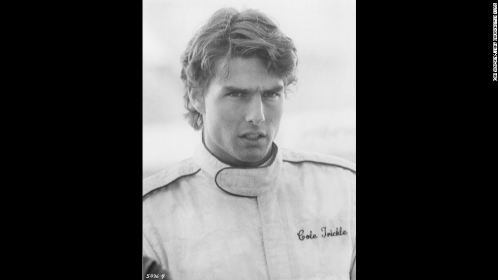 "Tom Cruise (seen here in ""Days of Thunder"") was a hot selection in 1990."