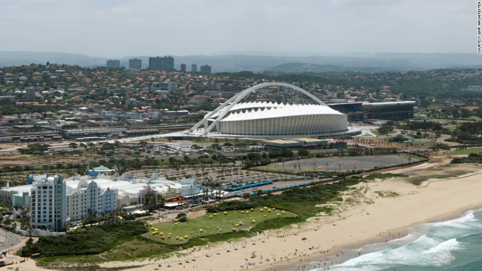 """""""The mayor asked us for something that would 'put Durban on the map,'"""" said Neinhoff."""