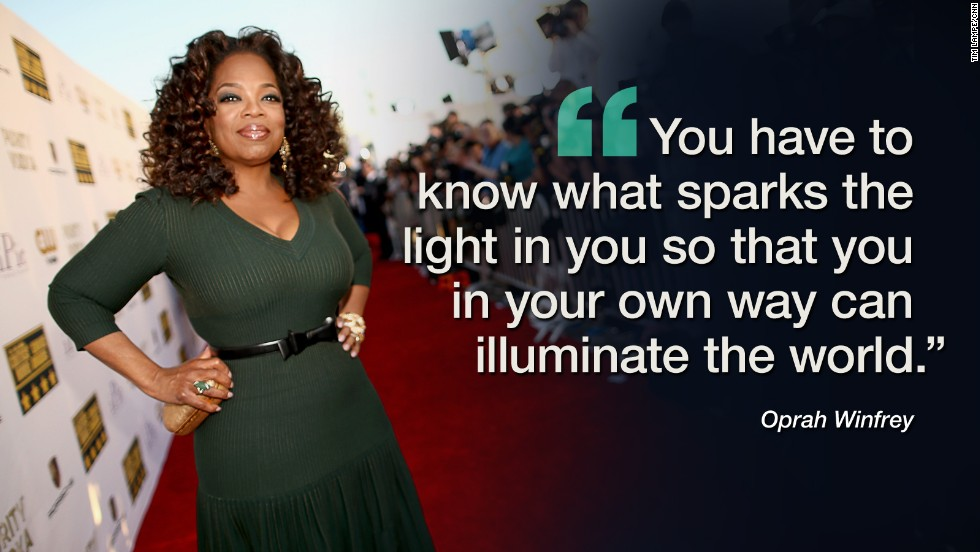 oprah winfrey dating advice One of our favorite iconic women, oprah winfrey, turns 62 today, and to celebrate we're taking a look back through the archives to find her most inspirational career advice.