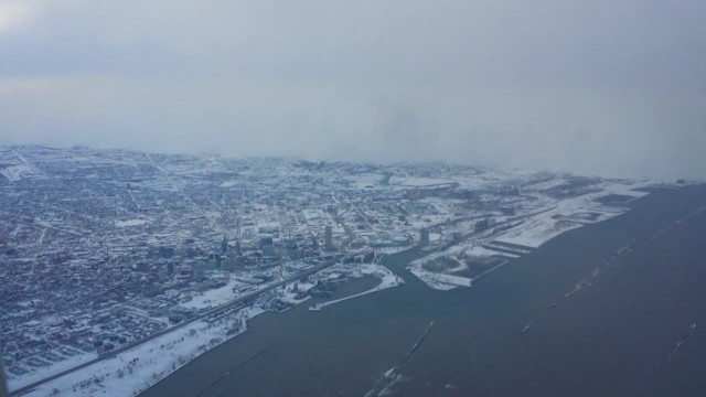 What is lake effect snow?