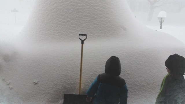 Views from an epic snowstorm