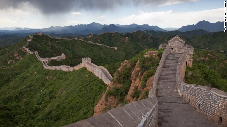 """China's vast fortification is described by Lonely Planet as seeming both """"infinite and indestructible."""" For all its apparent might, however, the Wall is said to be <a  data-cke-saved-href=""""http://edition.cnn.com/2015/06/30/travel/china-disappearing-great-wall/"""">in href=""""http://edition.cnn.com/2015/06/30/travel/china-disappearing-great-wall/"""">in danger of vanishing</a>."""