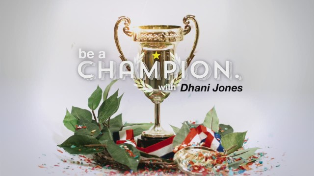 Dhani Jones advice: Be positive