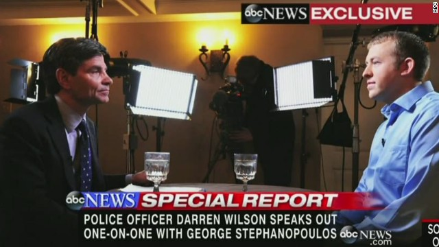 Darren Wilson defends shooting Brown