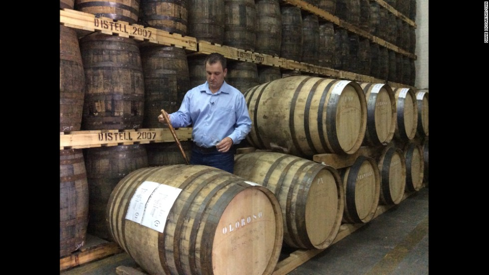 """Two hours north of Cape Town, distiller Jeff Green makes the first single grain whiskey in South Africa, the award winning """"Bain's Mountain Whisky."""""""