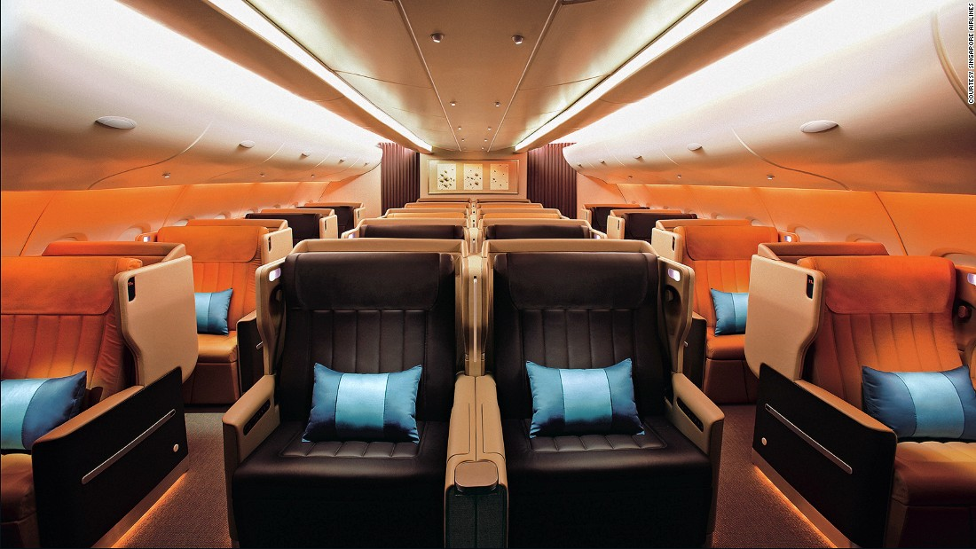 Consistently offering the best service in all classes, Singapore Airlines is one of the most reliable in safety, according to AirlineRatings.com.