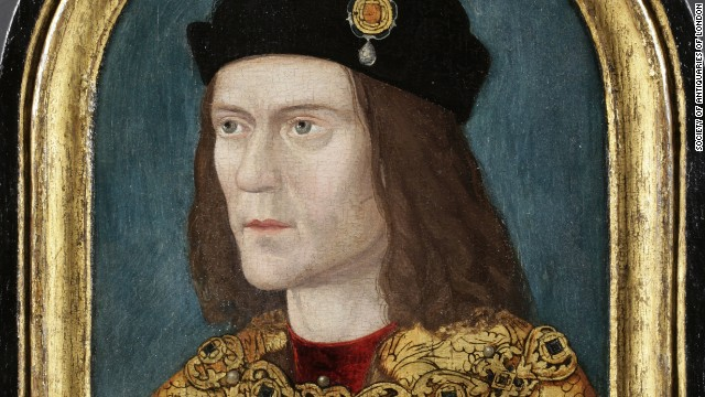 Experts say DNA tests suggest Richard III had blue eyes and -- at least as a child -- blond hair, which means this portrait is likely to be the closest to his real appearance