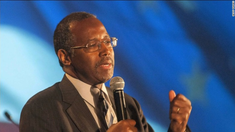 Ben Carson apologizes for comments on gay people