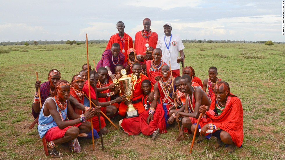 At the Maasai Olympics, the hunt is for medals, not lions