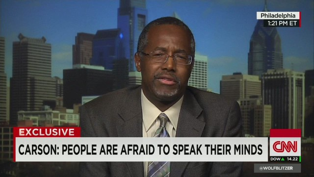 Carson stands by Nazi comment