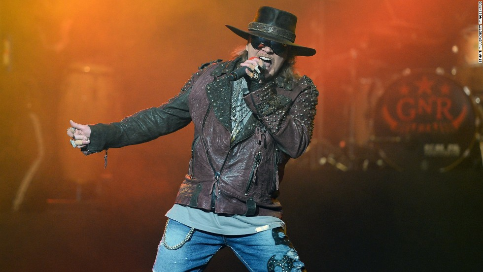 "In early December, the Internet was briefly tricked into believing that rocker Axl Rose had passed away at 52. The reports were false, and Rose responded to the death hoax with good humor: ""If I'm dead, do I still have to pay taxes?"" <a href=""https://twitter.com/axlrose/status/540309216703954944"" target=""_blank"">he asked on Twitter. </a>"