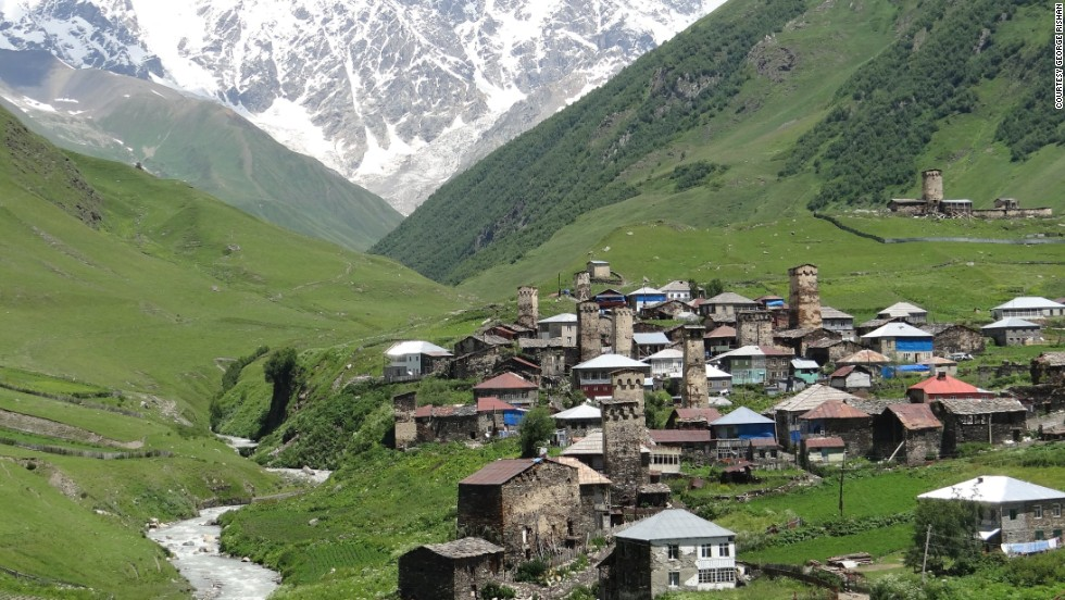 "Ancient tower-houses peek out from the village of <a href=""http://ireport.cnn.com/docs/DOC-1186104"">Ushguli</a> in the Upper Svaneti region of the Caucasus in Georgia. The area was designated as a <a href=""http://whc.unesco.org/en/list/709/"" target=""_blank"">UNESCO World Heritage site</a> in 1996."