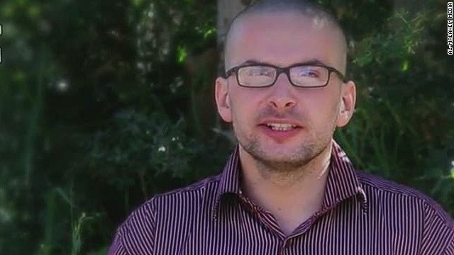 American hostage pleads for his life