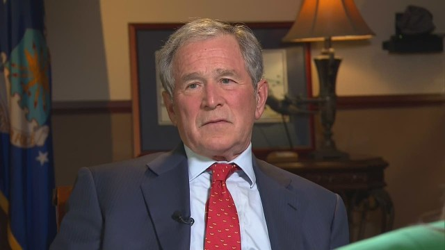 "Bush on Garner decision: ""How Sad"""