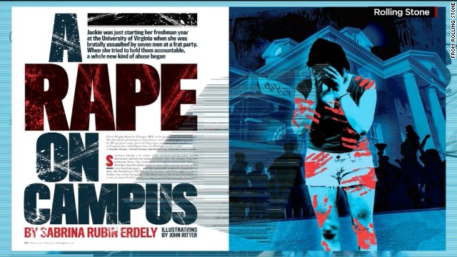Rolling Stone backs off UVA rape story