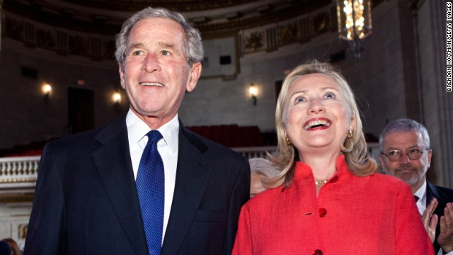 http://i2.cdn.turner.com/cnnnext/dam/assets/141207194232-george-w-bush-and-hillary-clinton-story-top.jpg