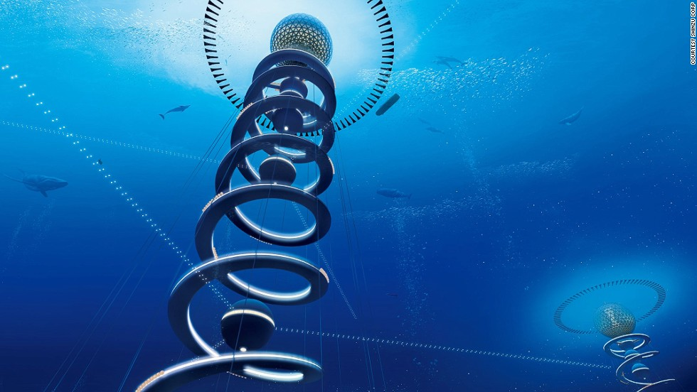 """What would happen if the legend of the lost City of Atlantis was crossed with the screenplay for Kevin Costner's 1995 hit movie """"Waterworld?"""" <br /><br />Maybe something like The Ocean Spiral -- an underwater metropolis which generates its own energy from the seabed, produces food from deep sea aquaculture and is capable of providing accommodation for 5,000 people."""