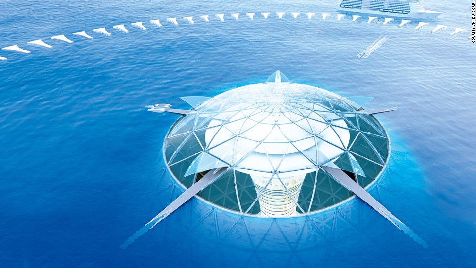Building the first underwater city would be around $24B USD