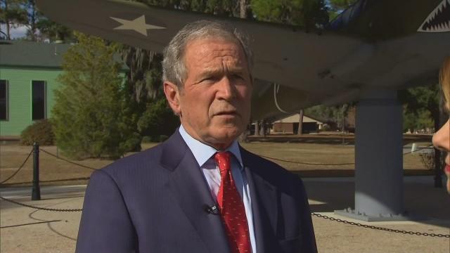 Bush refutes CIA torture report