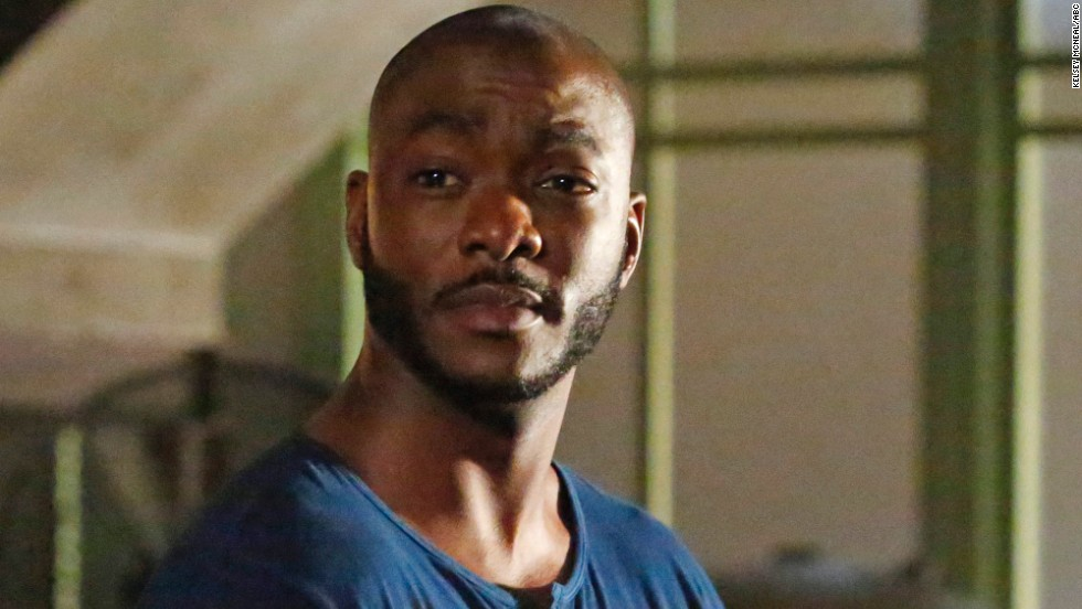 "Fan favorite Trip (B.J. Britt) on ""Marvel's Agents of S.H.I.E.L.D."" met a disastrous end on the show's midseason finale in December. In an attempt to rescue Skye just as the mysterious Obelisk was activated, Trip was turned into stone."