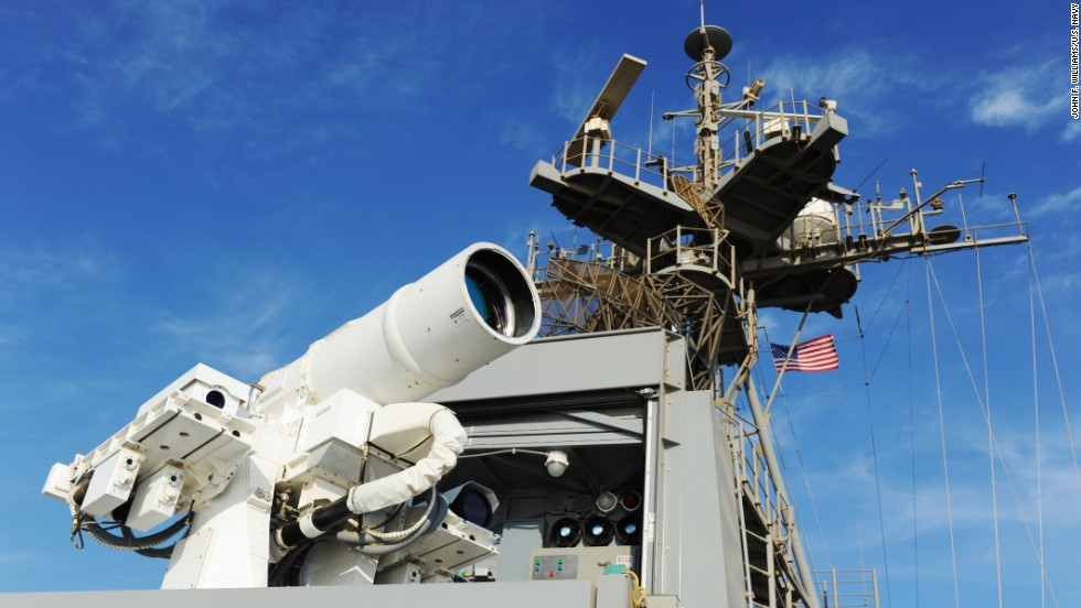 US Navy approves first laser weapon for operation aboard Persian ...