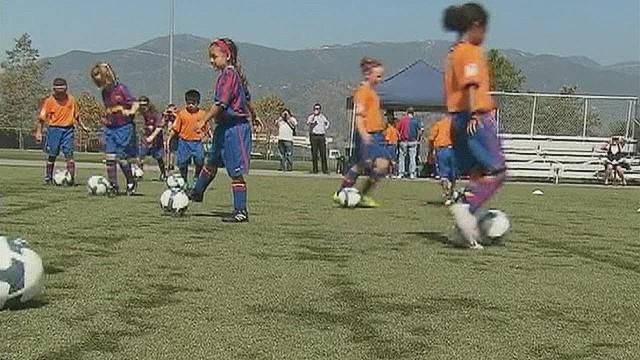 Coach wants to grow interest in U.S. soccer
