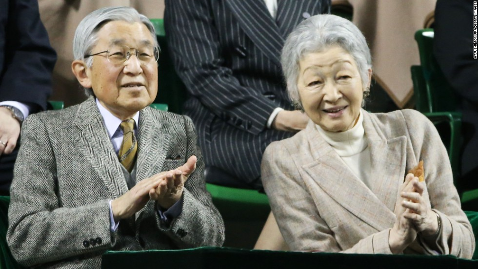 "Japan's <a href=""http://www.cnn.com/2012/12/07/world/asia/emperor-akihito---fast-facts/"">Emperor Akihito</a> and Empress Michiko married in 1959. He became emperor in 1989."