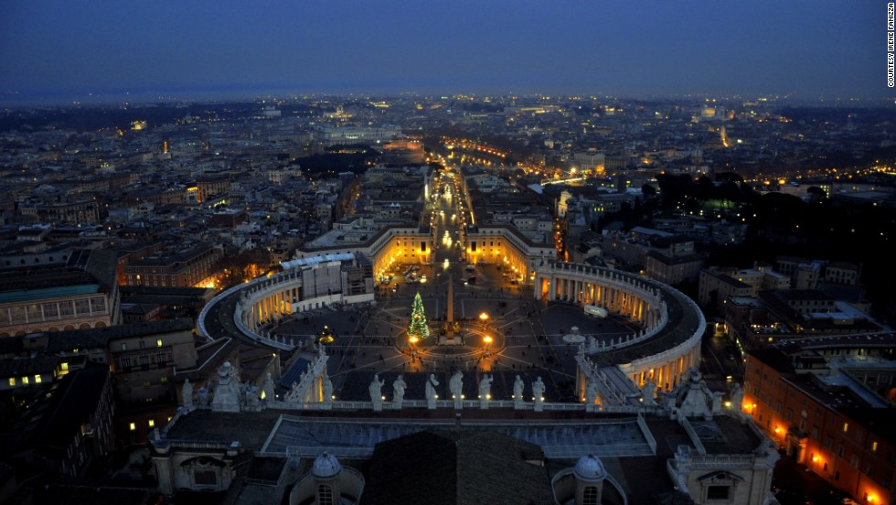 "The Dome of St. Peter's Basilica offers a stunning view of the Vatican from above. Archaeologist and journalist <a href=""http://ireport.cnn.com/docs/DOC-1075102"">Irene Fanizza</a>, who lives in Venice, snapped this photo during her annual visit to Rome in January 2014."
